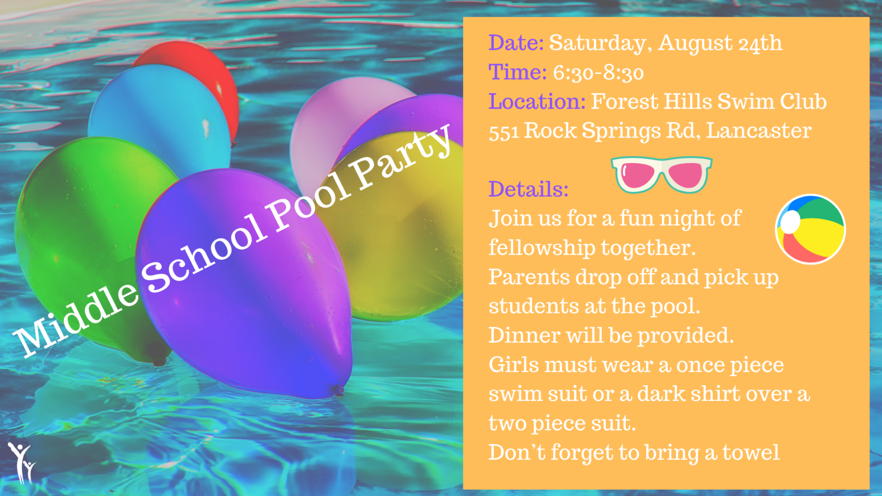 Middle School Pool Party