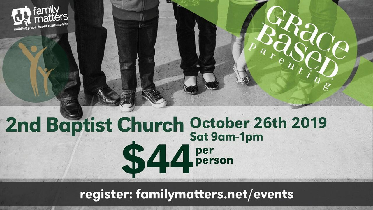 Grace Based Parenting Conference 2019