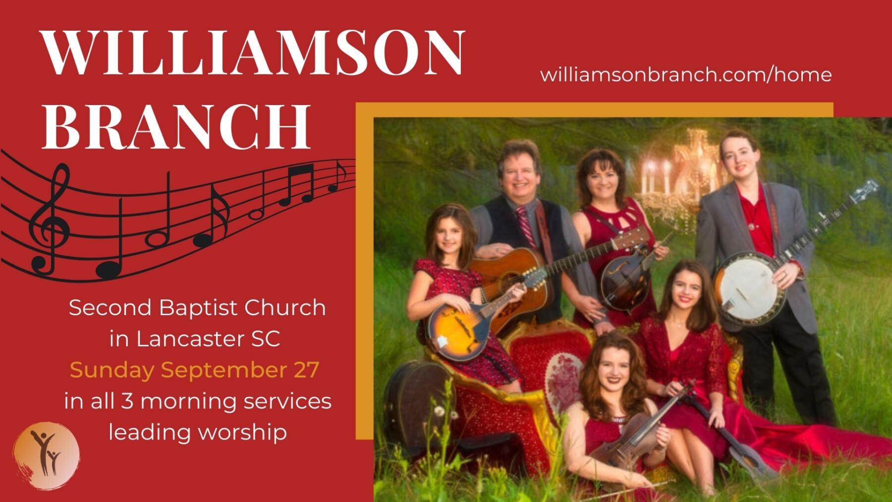 Williamson Branch - Sunday September 27
